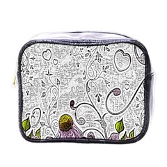 Abstract Pattern Mini Toiletries Bags by Simbadda