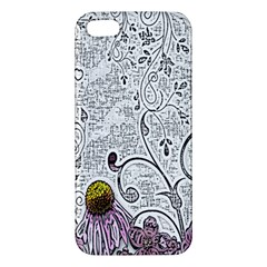 Abstract Pattern Iphone 5s/ Se Premium Hardshell Case by Simbadda