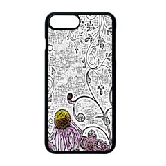 Abstract Pattern Apple Iphone 7 Plus Seamless Case (black)
