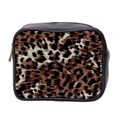 Background Fabric Animal Motifs Mini Toiletries Bag 2 Side by Simbadda