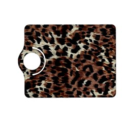 Background Fabric Animal Motifs Kindle Fire Hd (2013) Flip 360 Case by Simbadda
