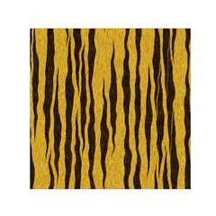 Seamless Fur Pattern Small Satin Scarf (square) by Simbadda