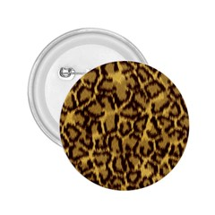 Seamless Animal Fur Pattern 2.25  Buttons
