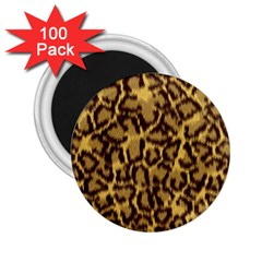 Seamless Animal Fur Pattern 2.25  Magnets (100 pack)