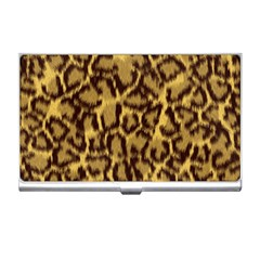 Seamless Animal Fur Pattern Business Card Holders