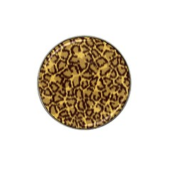 Seamless Animal Fur Pattern Hat Clip Ball Marker (4 pack)
