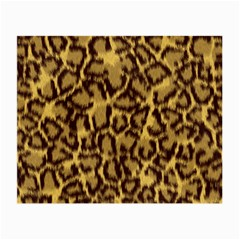 Seamless Animal Fur Pattern Small Glasses Cloth