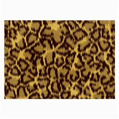 Seamless Animal Fur Pattern Large Glasses Cloth