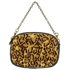 Seamless Animal Fur Pattern Chain Purses (One Side)