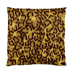 Seamless Animal Fur Pattern Standard Cushion Case (One Side)