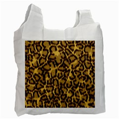 Seamless Animal Fur Pattern Recycle Bag (One Side)