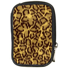 Seamless Animal Fur Pattern Compact Camera Cases