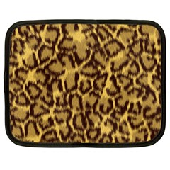 Seamless Animal Fur Pattern Netbook Case (xl)  by Simbadda