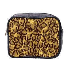 Seamless Animal Fur Pattern Mini Toiletries Bag 2 Side by Simbadda