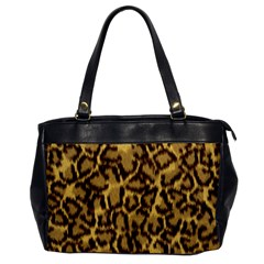 Seamless Animal Fur Pattern Office Handbags by Simbadda