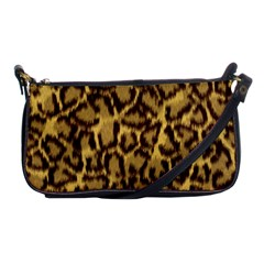 Seamless Animal Fur Pattern Shoulder Clutch Bags by Simbadda