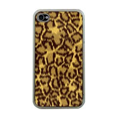 Seamless Animal Fur Pattern Apple iPhone 4 Case (Clear)
