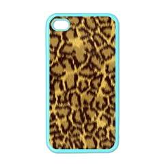 Seamless Animal Fur Pattern Apple iPhone 4 Case (Color)