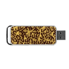 Seamless Animal Fur Pattern Portable USB Flash (One Side)
