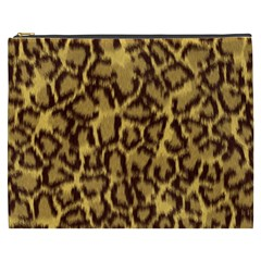 Seamless Animal Fur Pattern Cosmetic Bag (xxxl)  by Simbadda