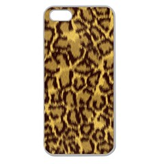 Seamless Animal Fur Pattern Apple Seamless iPhone 5 Case (Clear)