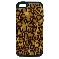 Seamless Animal Fur Pattern Apple iPhone 5 Hardshell Case (PC+Silicone)