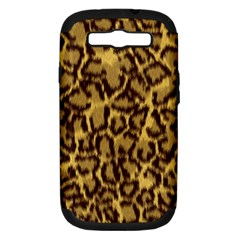 Seamless Animal Fur Pattern Samsung Galaxy S III Hardshell Case (PC+Silicone)