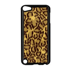 Seamless Animal Fur Pattern Apple iPod Touch 5 Case (Black)