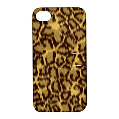 Seamless Animal Fur Pattern Apple iPhone 4/4S Hardshell Case with Stand