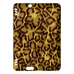Seamless Animal Fur Pattern Kindle Fire Hdx Hardshell Case by Simbadda