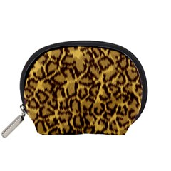 Seamless Animal Fur Pattern Accessory Pouches (Small)
