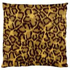 Seamless Animal Fur Pattern Large Flano Cushion Case (One Side)