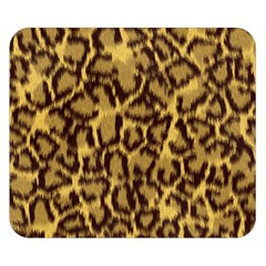 Seamless Animal Fur Pattern Double Sided Flano Blanket (Small)