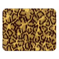 Seamless Animal Fur Pattern Double Sided Flano Blanket (Large)