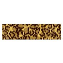 Seamless Animal Fur Pattern Satin Scarf (oblong) by Simbadda