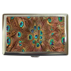 Peacock Pattern Background Cigarette Money Cases by Simbadda