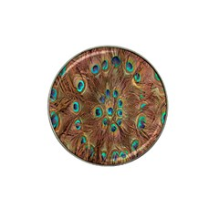 Peacock Pattern Background Hat Clip Ball Marker by Simbadda