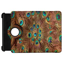 Peacock Pattern Background Kindle Fire Hd 7  by Simbadda