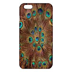Peacock Pattern Background Iphone 6 Plus/6s Plus Tpu Case