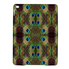 Beautiful Peacock Feathers Seamless Abstract Wallpaper Background Ipad Air 2 Hardshell Cases by Simbadda