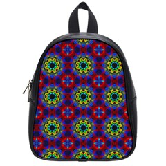 Abstract Pattern Wallpaper School Bags (small)  by Simbadda