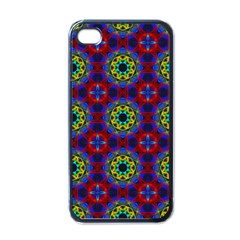 Abstract Pattern Wallpaper Apple Iphone 4 Case (black) by Simbadda