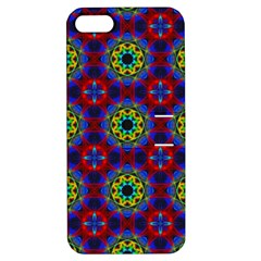 Abstract Pattern Wallpaper Apple Iphone 5 Hardshell Case With Stand by Simbadda