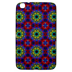 Abstract Pattern Wallpaper Samsung Galaxy Tab 3 (8 ) T3100 Hardshell Case  by Simbadda