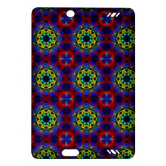 Abstract Pattern Wallpaper Amazon Kindle Fire Hd (2013) Hardshell Case by Simbadda