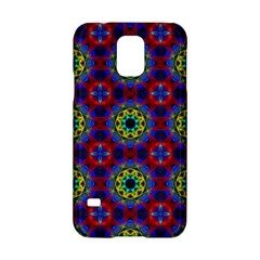 Abstract Pattern Wallpaper Samsung Galaxy S5 Hardshell Case  by Simbadda