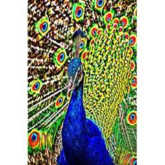 Graphic Painting Of A Peacock 5 5  X 8 5  Notebooks by Simbadda