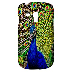 Graphic Painting Of A Peacock Galaxy S3 Mini by Simbadda