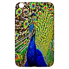 Graphic Painting Of A Peacock Samsung Galaxy Tab 3 (8 ) T3100 Hardshell Case  by Simbadda