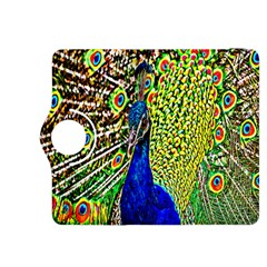 Graphic Painting Of A Peacock Kindle Fire Hdx 8 9  Flip 360 Case by Simbadda